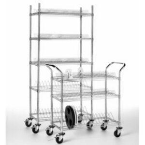Systemy regalów i wózki ESD